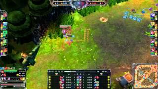 League of Legends Fiora level 1 ult hack