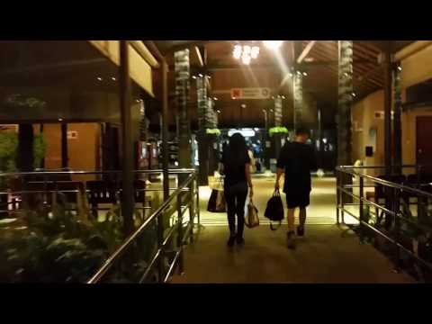 Arriving At Koh Samui Airport At Night – Thailand