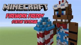 Minecraft Tutorial: Firework Freddy (FNAF AR: Special Delivery) Statue