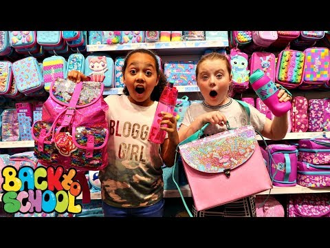 Thumbnail: BACK TO SCHOOL SHOPPING! Smiggle School Supplies - Clothes - Claire's Haul | Toys AndMe