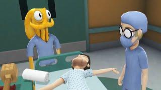 HOSPITAL DISASTER!! | Octodad