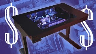 MOST EXPENSIVE DESK PC - Lian Li DK-04