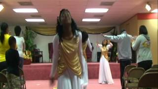 Praise Dance I GIVE MYSELF AWAY-William McDowell Angels of Praise