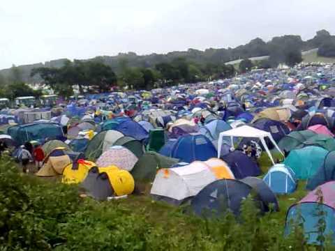 Glastonbury 2013 Pennard Hill Camp