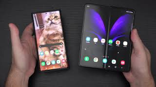 Samsung Galaxy Z Fold 2 vs Note 20 Ultra