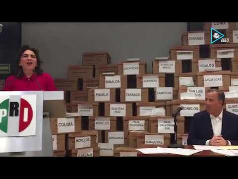 Respalda Ivonne Ortega candidatura de Meade