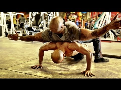 CT FLETCHER TRAINS SUPERHUMAN FRANK MEDRANO