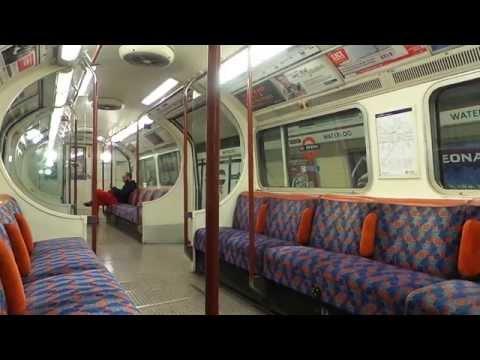 London Underground Bakerloo Line (1972 Stock, 4342): Waterloo - Charing Cross