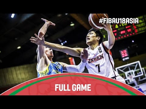 Japan v Kazakhstan - Full Game - 2016 FIBA Asia U18 Championship