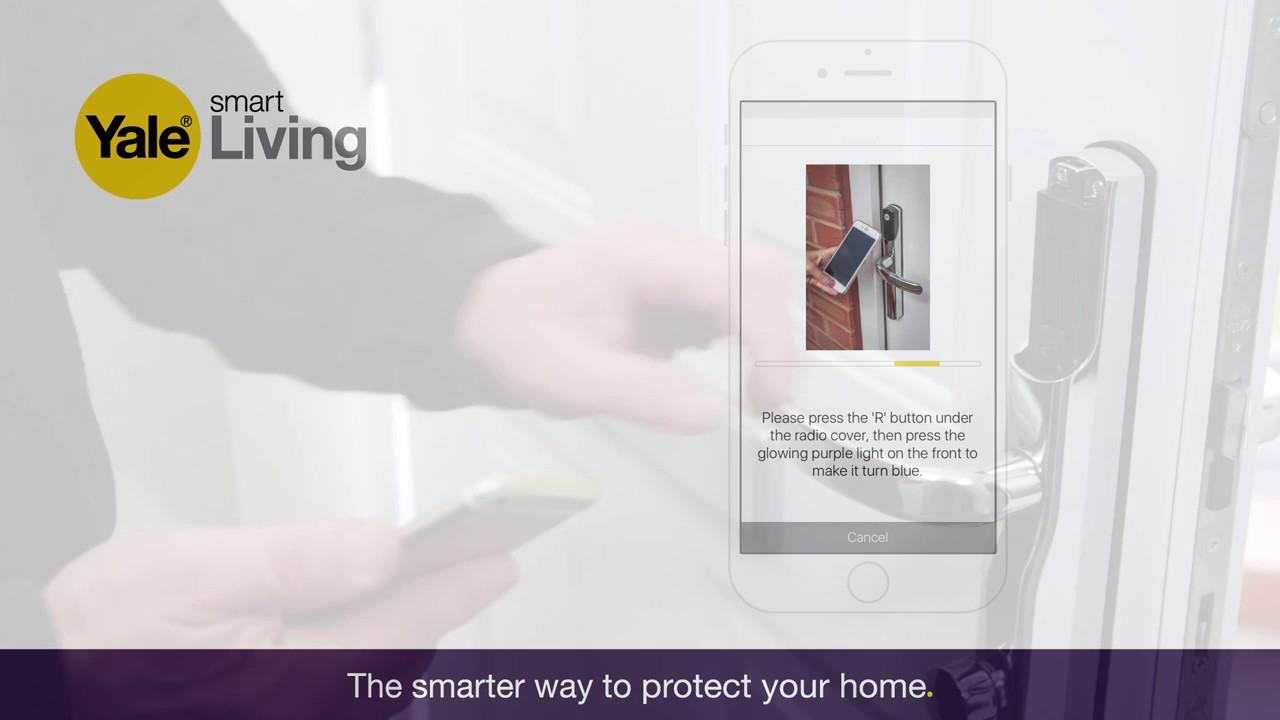 Pairing Your Smartphone With The Conexis L1 Smart Door Lock Youtube