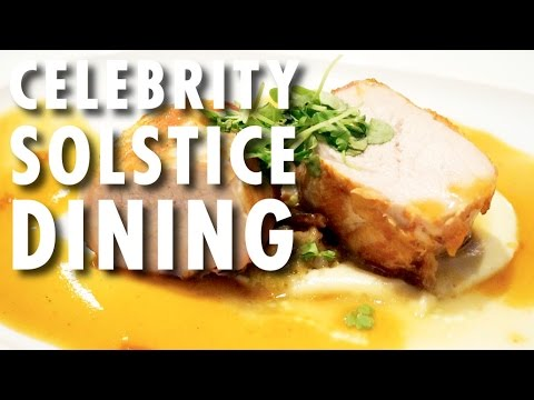 Celebrity Solstice Tour & Review: Dining ~ Celebrity Cruises ~ Cruise Ship Tour & Review
