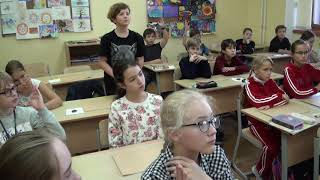 Daria Sokolova's The history of world culture open lesson (5th grade)