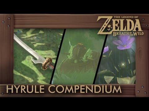 Zelda Breath of the Wild - 100% Complete Hyrule Compendium