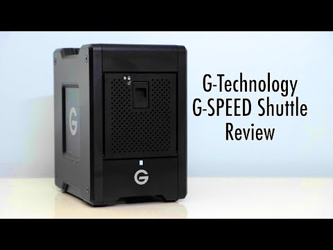 G-Technology G-SPEED Shuttle Raid Storage Review - Best Video Editing Drive?