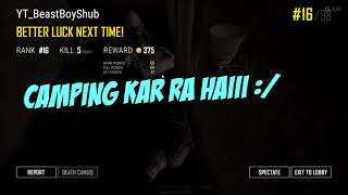 INDIAN Plays Player Unknown Battlegrounds #6 INDIAN PUBG Funny Moments