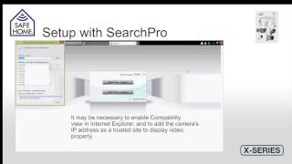 safeHome X-Series IP Camera - WIFI Setup UK