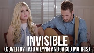Tatum Lynn & Jacob Morris singing Hunter Hayes', Invisible, for Teen Lifeline.