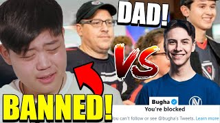 Khanada KICKED OFF YouTube? Bugha BLOCKS Everyone? Bugha's Dad CALLS OUT PROS!