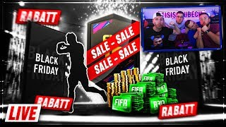 FIFA 19 XXL BLACK FRIDAY PACK ESKALATION mit TISI und BENJI