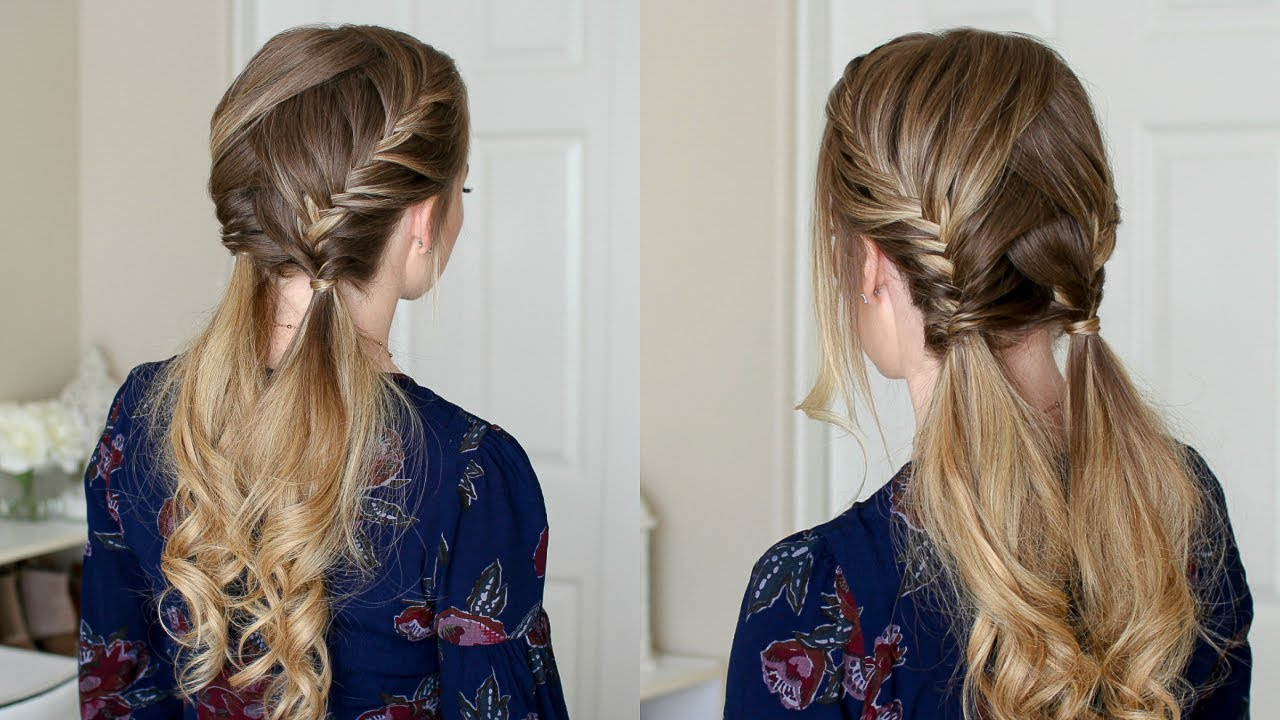 Double Fishtail French Braids Missy Sue