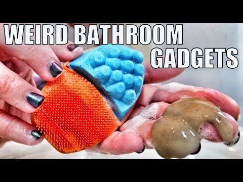 9 Weird Bathroom Gadgets Tested!