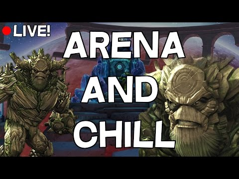 Arena and OH MY GOD WE ARE GOING TO CALIFORNIA TOMORROW - Marvel Contest Of Champions