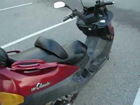 2006 linhai 260 classic scooter youtube rh youtube com