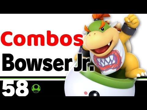 Smash Ultimate Bowser Jr Combos Youtube