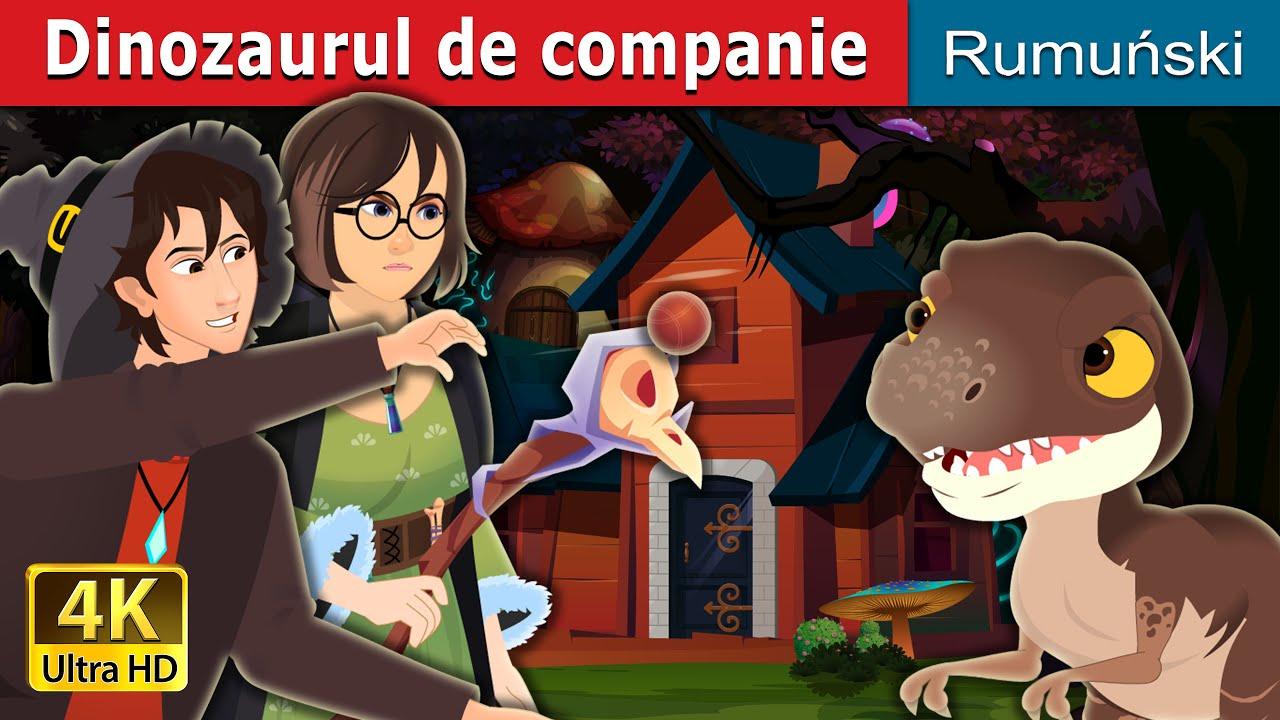 Dinozaurul de companie | The Pet Dinosaur Story in Romana | Romanian Fairy Tales