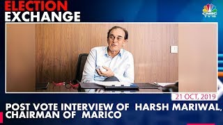 Low Voters Turnout In Bandra West Constituency | Interview of Harsh Mariwal, Chairman Marico