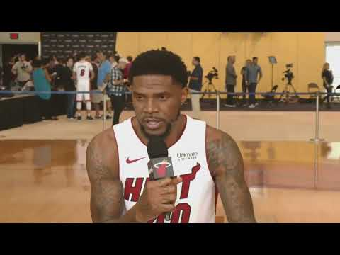 Sept 25, 2017 - NBA.COM - Miami Heat 2017 Media Day: Udonis Haslem Interview