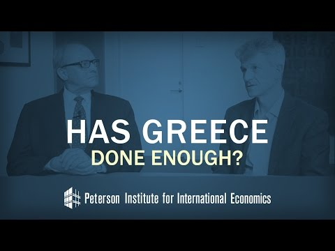 Has Greece Done Enough?