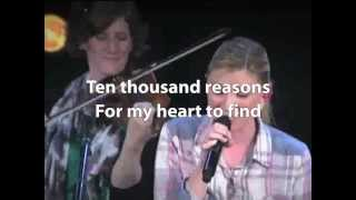 10000 Reasons(Bless the Lord), Matt Redman, played by Bethel Church. Large Lyrics(ver.1)