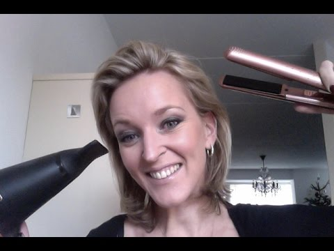 NEW!! REVIEW ghd set rose gold limited edition v styler & ghd air hairdryer