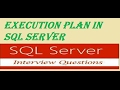 sql query optimization by using SQL server query execution plan