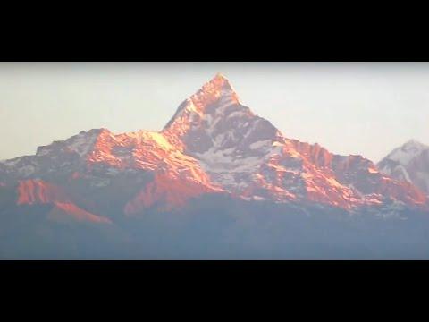 Sarangkot Sunrise View Annapurna Himalayas Pokhara Nepal   Holidays Tour and Travel