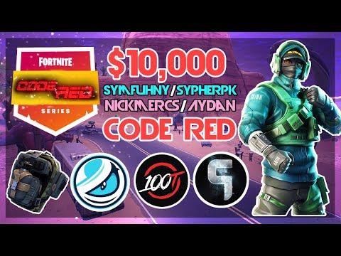 $10 000 🥊Symfuhny SypherPK VS Aydan Nickmercs🥊 Code Red (Fortnite)