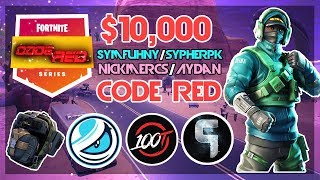 $10,000 🥊Symfuhny SypherPK VS Aydan Nickmercs🥊 Code Red (Fortnite)