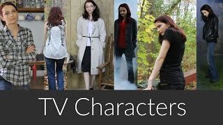 Outfits Inspired by TV Characters