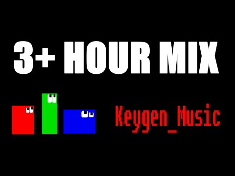 [3 HOUR +] Keygen music/ Chiptune /8 Bit MIX ♫