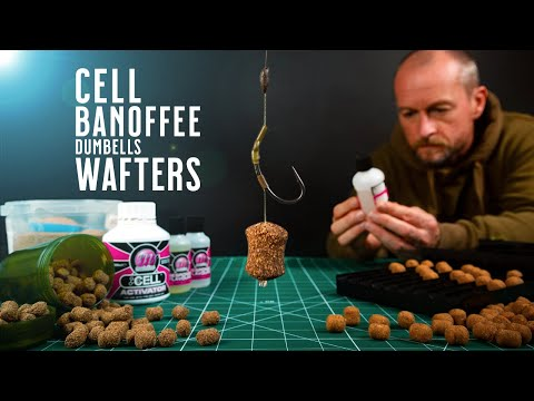 WAFTERS! CELL! BANOFFEE! DUMBELLS! The Ultimate Bait Making Video For Carp Fishing! Mainline Baits
