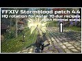 FFXIV Stormblood patch 4.4 HQ rotation for 4star 70 durability recipes (With minimal stats)