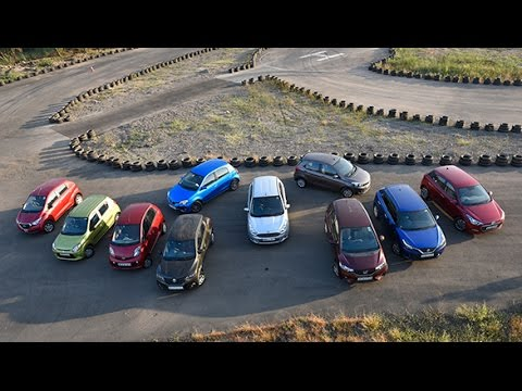 The OD Mega Hatchback Test - Comparing some of India