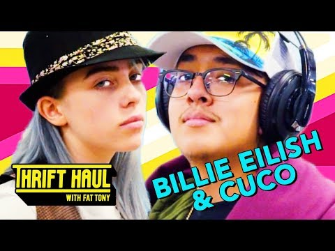 How to Dress Like a Fortnite Streamer ft Billie Eilish and Cuco  Thrift Haul