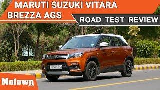 2018 Maruti Suzuki Vitara Brezza AGS | Road Test Review | Motown India