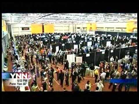 RIT on TV: Job Fair shows employment improving on YNN