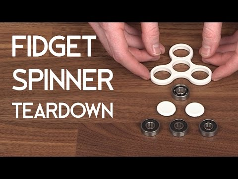 Fidget Spinner Teardown - DIY Hand Spinner Fidget Toy