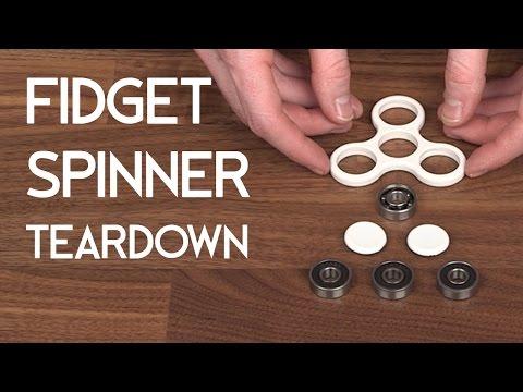 Fidget Spinner Teardown - DIY Hand Spinner Fidget Toy