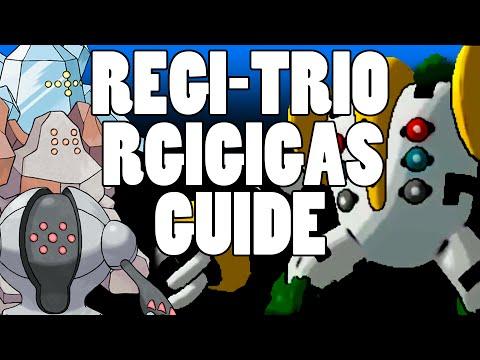 Regi Trio And Regigigas Guide Omega Ruby And Alpha