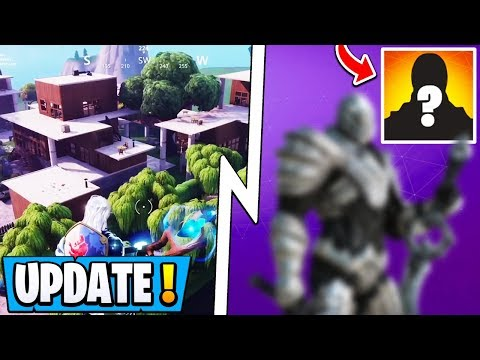 *NEW* Fortnite Update! | 7.01 Change, Secret Skin Revealed, Modern Mills POI!